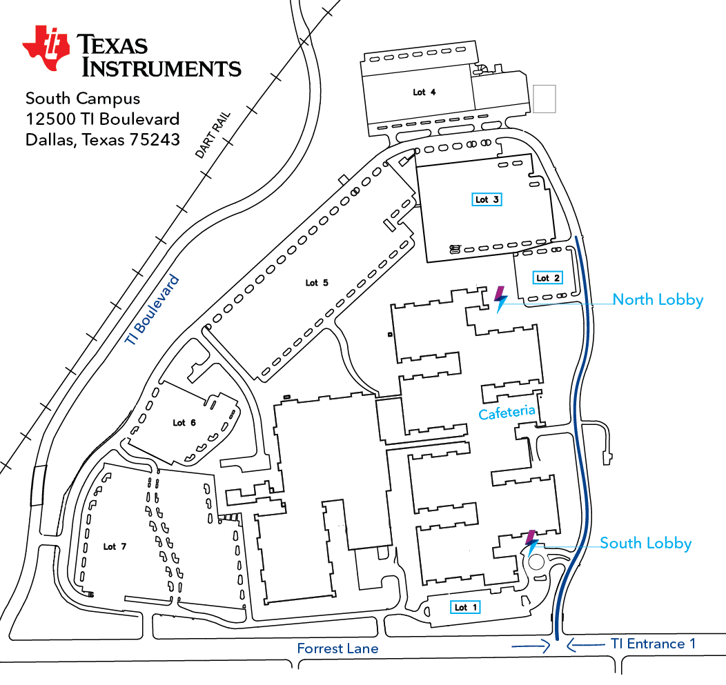 texas instruments dallas map Robot Events Texas Instruments Girl Powered Flagship Event