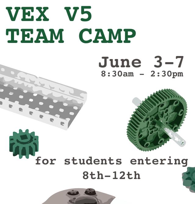Robot Events: VEX V5 Team Camp
