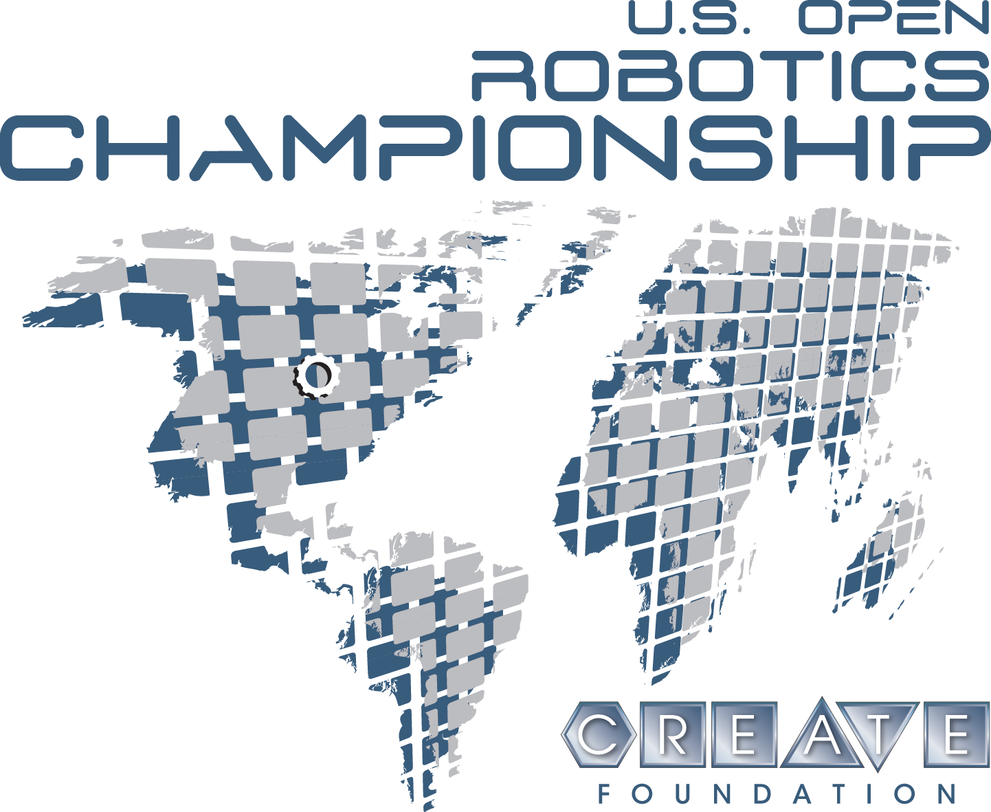2020 CREATE U.S. Open Robotics Championship - CREATE OPEN PROGRAM Tournament logo