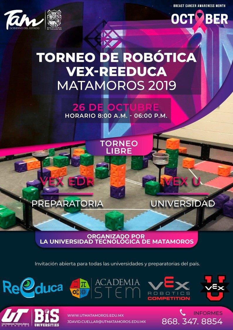 Vex U Reeduca Matamoros 2019