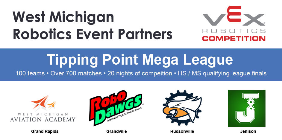 West Michigan VRC HS/MS Tipping Point Mega League
